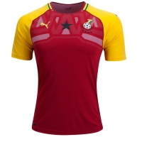 2018 World Cup Ghana Home Soccer Jersey Shirt