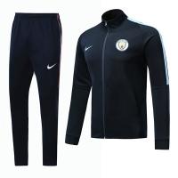 17-18 Manchester City Navy Training Kit(Jacket+Trouser)