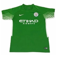 17-18 Manchester City Goalkeeper Green Jersey Shirt