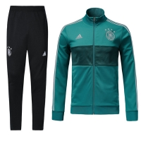 2018 World Cup Germany Green&Black Training Kit(Jacket+Trouser)