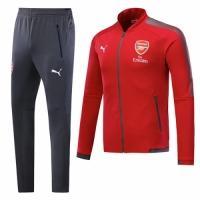 17-18 Arsenal Red Training Kit(Jacket+Trouser)