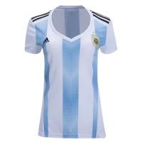2018 World Cup Argentina Home Women's Soccer Jersey Shirt