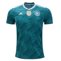 2018 World Cup Germany Away Green Jersey Shirt(Player Version)