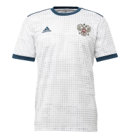 2018 World Cup Russia Away White Soccer Jersey Shirt