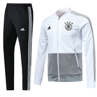2018 World Cup Germany White&Black Training Kit(Jacket+Trouser)