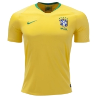 2018 World Cup Brazil Home Yellow soccer Jersey Shirt