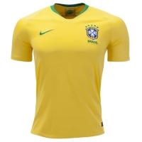 2018 World Cup Brazil Home Yellow soccer Jersey Shirt