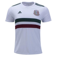 2018 World Cup Mexico Away White Soccer Jersey Shirt
