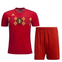 2018 World Cup Belgium Home Jersey Kit(Shirt+Short)