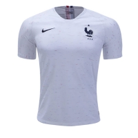 2018 World Cup World Cup France Away White Soccer Jersey Shirt