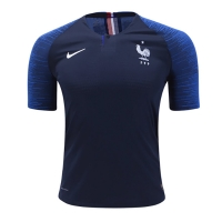 2018 World Cup France Home Blue Soccer Jersey Shirt(Player Version)