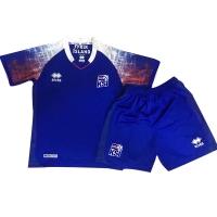 2018 World Cup Iceland Home Children's Jersey Kit(Shirt+Short)