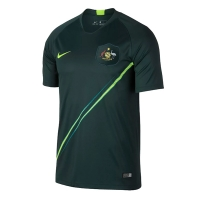 2018 World Cup Australia Away Green Soccer Jersey Shirt