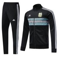 2018 World Cup Argentina Black Training Kit(Training Jacket+Trouser)