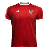 2018 World Cup Costa Rica Home Soccer Jersey Shirt