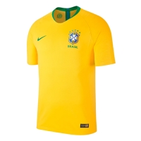 2018 World Cup Brazil Home Yellow soccer Jersey Shirt(Player Version)