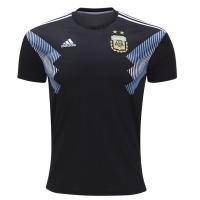 2018 Argentina Away Black Soccer Jersey Shirt(Player Version)