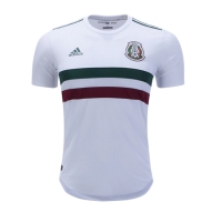 2018 World Cup Mexico Away White Soccer Jersey Shirt(Player Version)