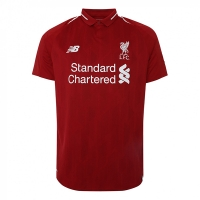 18-19 Liverpool Home Soccer Jersey Shirt