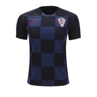 2018 World Cup Croatia Away Navy&Black Jersey Shirt