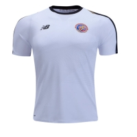2018 World Cup Costa Rica Away White Soccer Jersey Shirt