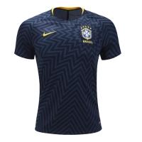 2018 World Cup Brazil Black Pre-Match Jersey Shirt