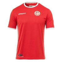 2018 World Cup Tunisia Away Red Soccer Jersey Shirt