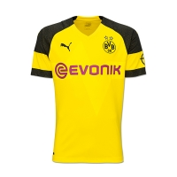 18-19 Borussia Dortmund Home Soccer Jersey Shirt