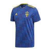 2018 World Cup Sweden Away Navy Soccer Jersey Shirt