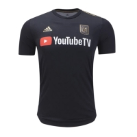 2018 Los Angeles FC Home Black Soccer Jersey Shirt(Player Version)