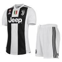18-19 Juventus Home Soccer Jersey Kit(Shirt+Short)