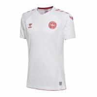 2018 World Cup Denmark Away White Jersey Shirt