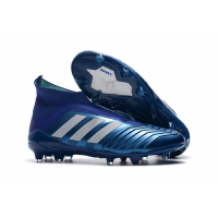 AD Predator 18+ Without Latchet FG Soccer Cleats-Blue