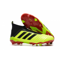 AD Predator 18+ without latchet FG Soccer Cleats-Fluorescent Green