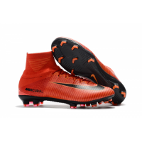 NK Mercurial Superfly V FG Soccer Cleats-Orange