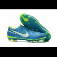 NK Mercurial Vapor XI NJR FG Soccer Cleats-Blue