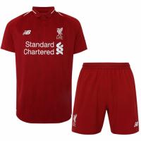 18-19 Liverpool Home Soccer Jersey Kit(Shirt+Short)
