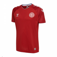 2018 World Cup Denmark Home Red Jersey Shirt