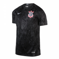 18-19 SC Corinthians Away Black Jersey Shirt