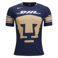 17-18 UNAM Pumas Home Navy Soccer Jersey Shirt