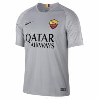 18-19 Roma Away Gray Soccer Jersey Shirt