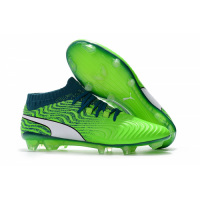 PM One 18.1 Syn FG Soccer Cleats-Fluorescent Green
