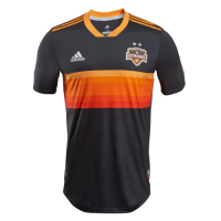 2018 Houston Dynamo Away Black&Orange Soccer Jersey Shirt(Player Version)