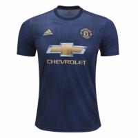 18-19 Manchester United Third Away Navy Jersey Shirt(Player Version)