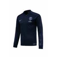 18-19 PSG Navy V-Neck Track Jacket