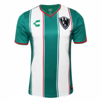 18-19 Club De Cuervos Away Green&White Jersey Shirt