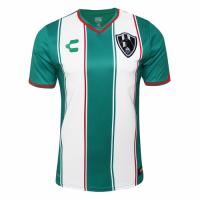 18-19 Club De Cuervos Away Green&White Jersey Shirt