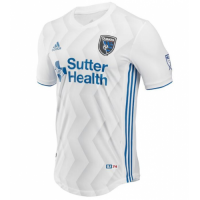 2018 San Jose Earthquakes Away White Soccer Jersey Shirt(Player Version)