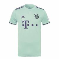 18-19 Bayern Munich Away Mint Green Jersey Shirt