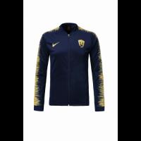 18-19 UNAM Pumas Navy&Yellow V-Neck Training Jacket